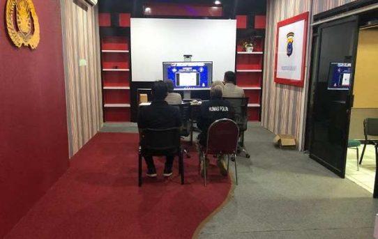 Kapolri Launching Polri TV Dan Radio Presisi, Polresta Banjarmasin Ikuti Secara Virtual