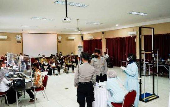 Di Mulai, Polresta Banjarmasin Gelar Rakmin Awal Bintara Dan Tamtama Polri TA 2021