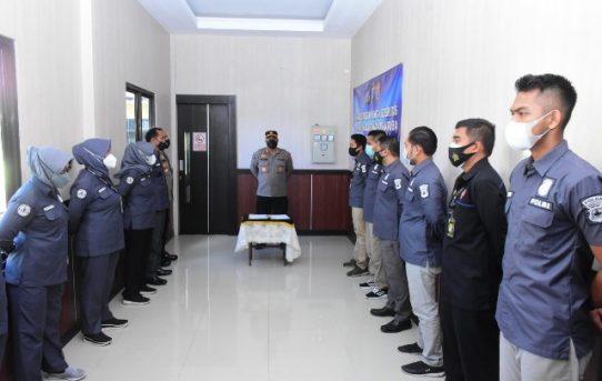 Wujudkan Personel Anti Narkoba, Bid Humas Polda Kalsel Gelar Penandatanganan Pakta Integritas