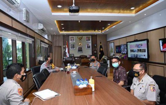 Sambutan Hangat Kapolda Kalsel untuk Tim Asistensi Penelitian Mahasiswa S1 STIK – PTIK Angkatan Ke-78