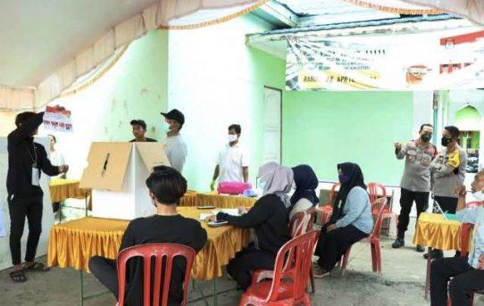 Partisipasi Masyarakat Meningkat, Kapolresta : PSU Pilwali Banjarmasin Berjalan Aman Dan Lancar