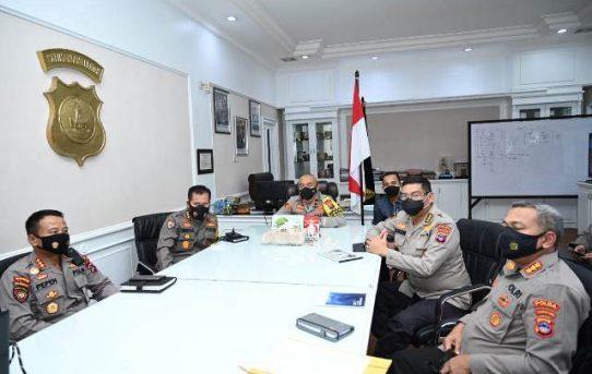 Bahas Pelaksanaan Rekrutmen Anggota Polri, Polda Kalsel Gelar Rapat Koordinasi