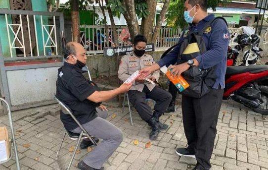 Pastikan Kesehatan Personel, Tim Urkes Polresta Banjarmasin Gelar Patroli