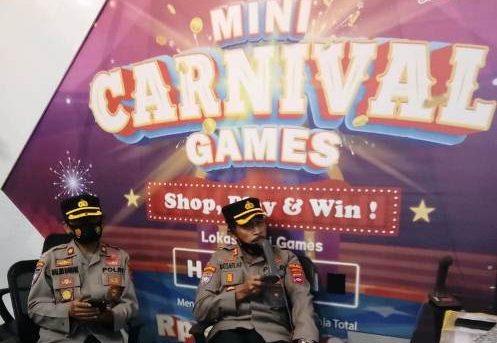 Cegah Kerumunan di Pusat Perbelanjaan, Polda Kalsel Beri Himbauan ke Pengunjung