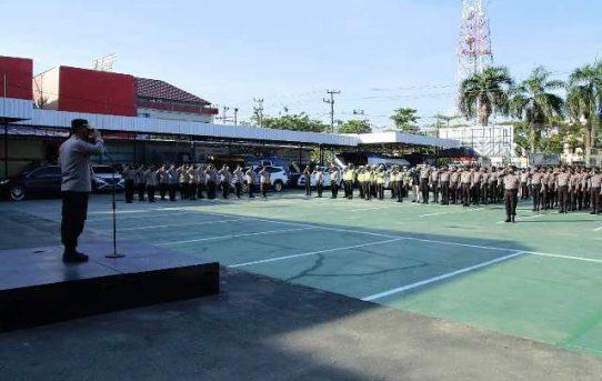 PSU Pilwali Banjarmasin Berjalan Aman Dan Lancar, Kapolresta : Terima Kasih Kinerja Personel