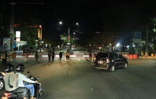 Pemberlakuan Pembatasan Mobilitas Masyarakat Di Banjarmasin Disosialisasikan, Wakapolresta : Agar Masyarakat Tidak Kaget