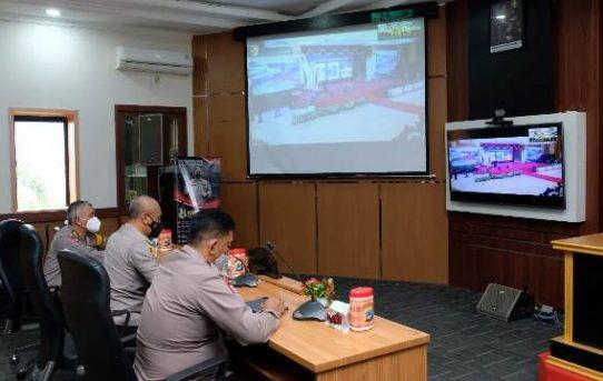 Polda Kalsel Ikuti Launching Aplikasi Binmas Online System Lewat Virtual