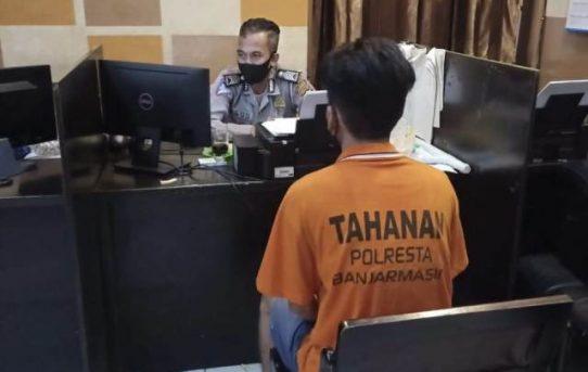 Tabrak Pejalan Kaki, Pengemudi Mobil BPK Resmi Ditahan Sat Lantas Polresta Banjarmasin