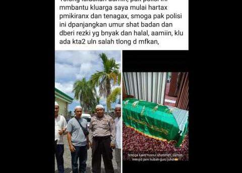Viral Di Linimasa Facebook, Aksi Aipda Ronny Bikin Kagum Netizen