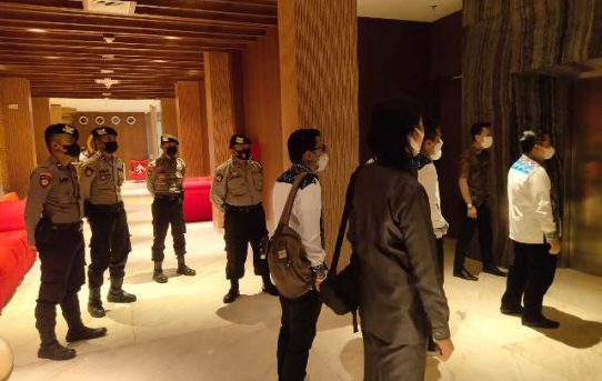 Polresta Banjarmasin Turunkan 150 Personel Kawal Rapat Pleno Penetapan Walikota Dan Wakil Terpilih