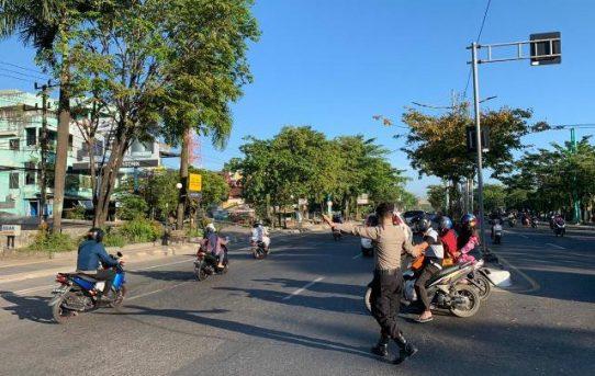 Pelayanan Prima Kepolisian, Polresta Banjarmasin Hadirkan Personelnya Di Awal Waktu