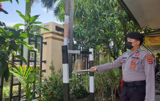Lonceng Di Lingkungan Polri Tak Tergantikan, Simak Penjelasan Kapolresta Banjarmasin