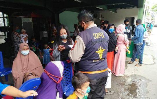 Urkes Polresta Banjarmasin Dampingi Skrining 16 Anak Sebelum Operasi Celah Langit dan Bibir Sumbing