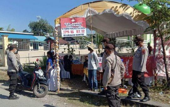 Hingga Siang PSU Banjarmasin Selatan Berjalan Aman dan Lancar, Kapolresta : Kami Kawal