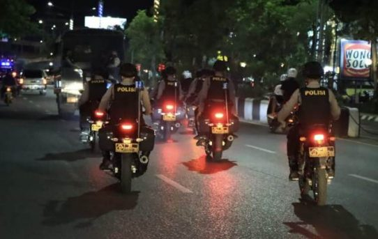 Penguatan Harkamtibmas Pasca PSU Pilgub Kalsel, Polresta Banjarmasin Gelar Patroli Gabungan