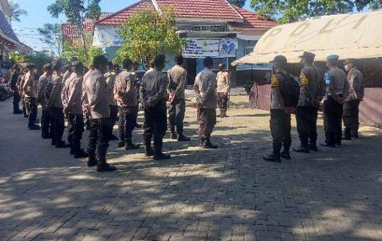 Polresta Banjarmasin Amankan Jalannya Rapat Pleno PPK