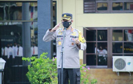 Apel Jam Pimpinan, Kapolresta Banjarmasin : Apresiasi Pelaksanaan Tugas Personel