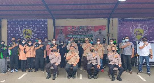 Respon Vaksinasi Bid Dokkes Polda Kalsel Berlanjut, 540 Warga Banjarbaru Disuntik Vaksin Covid-19