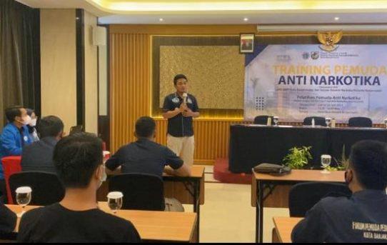 Training Pemuda Anti Narkotika, Polresta Banjarmasin Gandeng DPD KNPI