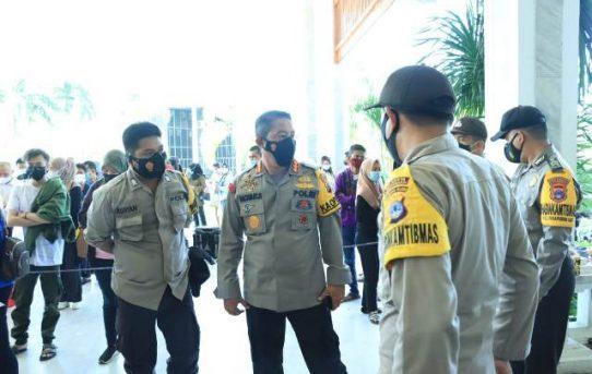 Gebyar Satu Juta Vaksin Di Banjarmasin, Kapolresta : Prokes Diperhatikan