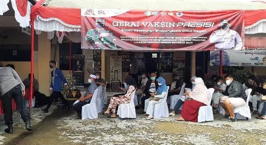 Responsif Positif Warga Kecamatan Banjarmasin Utara saat Gerai Vaksinasi Presisi