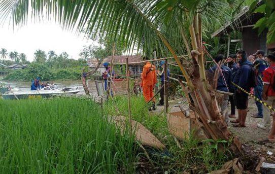 Seorang Anak Diduga Tenggelam Di Sungai Simpang Jelai, Tim Gabungan Lakukan Pencarian