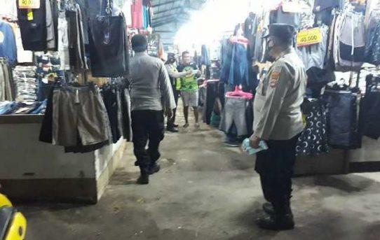 Sasar Pasar Dan Cafe, Operasi Yustisi Polsek Banjarmasin Barat Tindak Ratusan Pelanggar Prokes