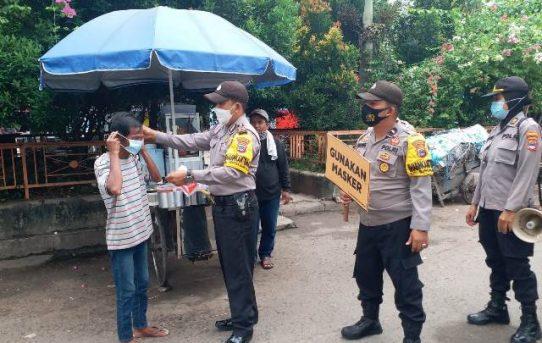 """Operasi Yustisi"" Polsek Banjarmasin Tengah Sasar Pasar Sentra Antasari"