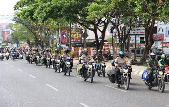 Bantu Sosial Covid-19, Polresta Banjarmasin Bagikan Ratusan Paket Sembako Kepada Masyarakat