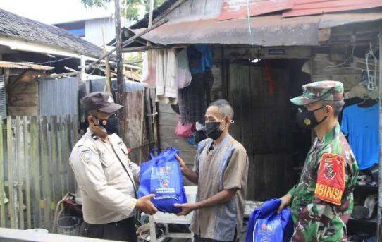 1000 Paket Sembako Dibagikan Polresta Banjarmasin Hingga Jelang PPKM Level IV