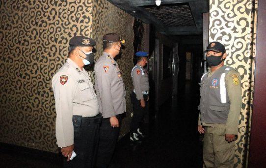 PPKM Level IV Di Banjarmasin, Petugas Gabungan Sambangi THM