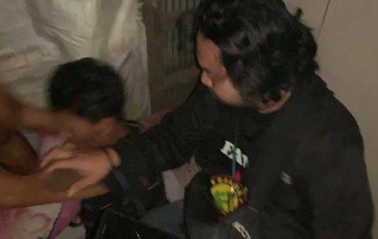 Beraksi Telanjang Badan, Pria Diduga Pembobol Cafe Berhasil Diamankan Polresta Banjarmasin