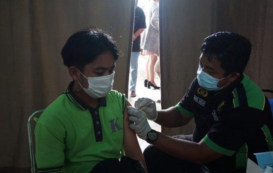 Akselerasi Gerai Vaksinasi Presisi Polresta Banjarmasin Sesuai Target