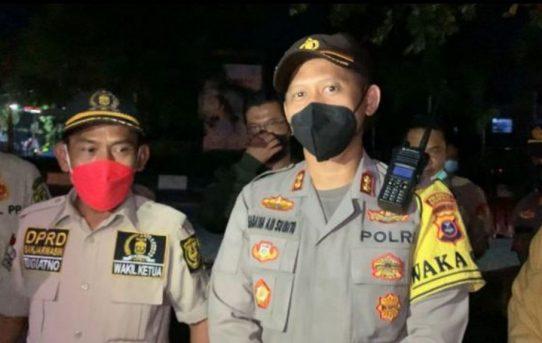Apresiasi Kunjungan DPRD Kota Banjarmasin Di Pos PPKM, Wakapolresta : Ini Suntikan Motivasi Untuk Personel