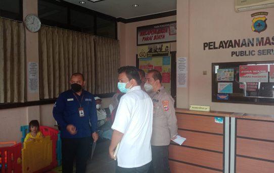 Survei Pelayanan Publik, Tim Ombudsman RI Kunjungi Polresta Banjarmasin