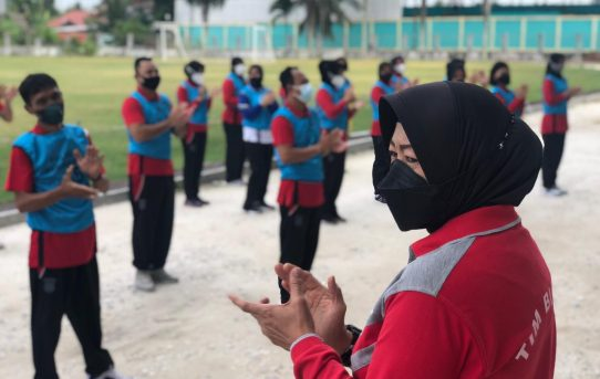 Tes Kesamaptaan Jasmani Polresta Banjarmasin, Kabag SDM: Ingatkan Pentingnya Berolahraga