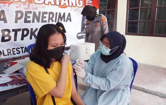 Kemudahan Layanan Vaksinasi Di Gerai Vaksin Presisi Polresta Banjarmasin