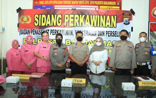 Sebelum Menikah, Personel Polresta Banjarmasin Di Sidang BP4R